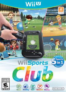 Wii Sports Club (Rare Nintendo Game  - Wii U)