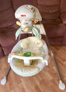 Nature's Touch Fisher Price Swing Bumblebee