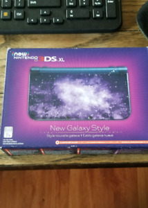 New 3ds XL Specail édition Galaxy