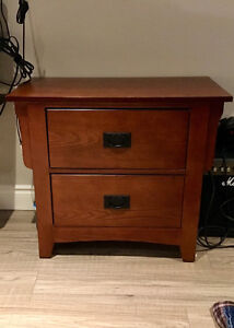 Dresser w/mirror, bed board and night table for sale Windsor Region Ontario image 3