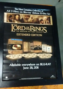 LORD OF THE RINGS MOVIE POSTER    COLLECTIBLE