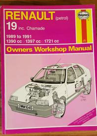 Haynes Manual Renault 19 Petrol
