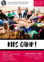 Volunteer Childrens Yoga Camp Counsellor