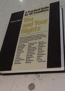 Reader's Digest, You and Your Rights, 1980 Kitchener / Waterloo Kitchener Area image 1