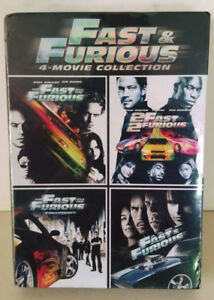 FATHER'S DAY GIFT  BRAND NEW SEALED Fast & Furious 4-Movie in  1