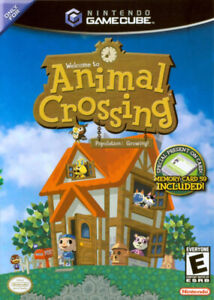Animal Crossing for GameCube and Pokemon Red