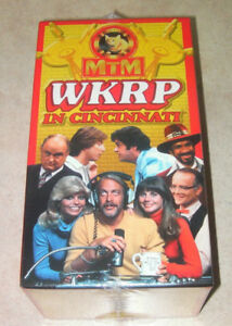 WKRP Cincinnati (Never been opened) on 3 VHS tapes.