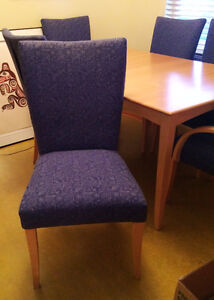 Dining Room Table and Six Chairs OBO