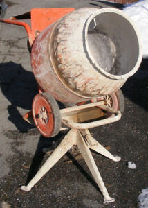 Wanted to buy: Broken Cement mixer for project