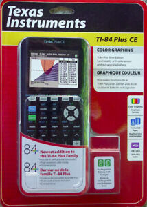 *NEW*Texas Instruments TI-84 + Plus CE Color Graphing Calculator