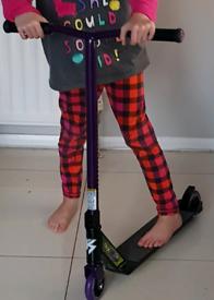 Lost kids stunt scooter