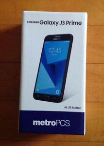 Samsung J3 Prim 16gb unlocked brand new with 7.0.1 operating sys