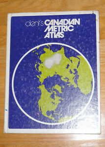 Dent's Canadian metrics atlas hardcover London Ontario image 2