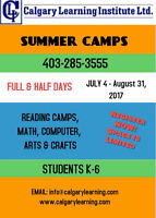 **EDUCATIONAL SUMMER CAMPS**