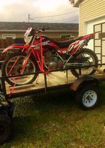 Moto Honda CRF 230L 2008 - 3100$ Négo!!! À voir!!!! Lac-Saint-Jean Saguenay-Lac-Saint-Jean image 1