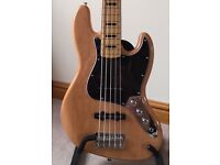 Squire - 70's Re-issue 5 string Jazz Bass