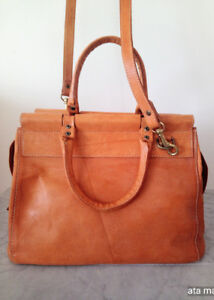 Natural Leather Handbag