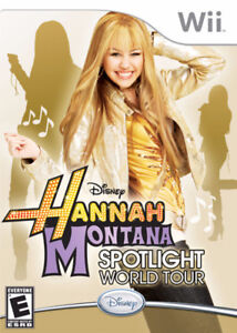 ► NINTENDO Wii - Disney Hannah Montana Spotlight World Tour