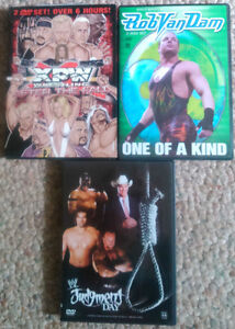 3 DVDs WWE WRESTLING JUDGEMENT DAY / ROB VAN DAM /XPW AFTER FALL