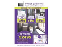 Bathrooms from £199