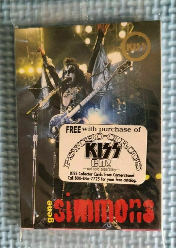 KISS - PSYCHO CIRCUS TRADING CARDS - 9 CARDS - 1996-1997 - CORNERSTONE