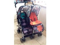 Cosatto Cuddle Monster Twin Buggy/ Pushchair
