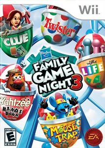 Wanted: Hasbro Family Game Night 3 - Wii Standard Edition