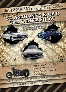 5th Annual St. Anthony's Car and Bike Show