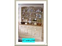 Country kitchen Welsh dresser, vintage ,shabby chic