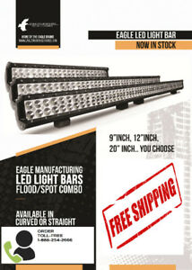 Super Bright Dual Row LED Light Bars FREE SHIPPING + FREE BONUS