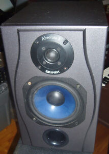 Used Absolute 2 Spirit by Soundcraft Studio Monitors UK Working