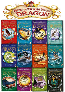 wanted: How to Train Your Dragon books