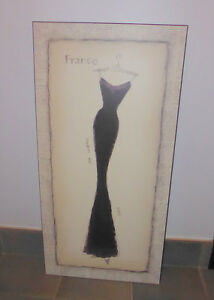 3 plaque-mounted Paris themed pictures, excellent condition Kitchener / Waterloo Kitchener Area image 1