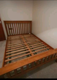 Oak Furniture Land Rustic Oak Double Bed