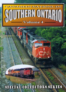 Canadian National In Southern Ontario - Vol 4