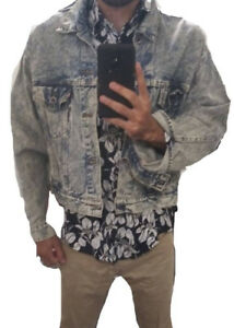 Mens Levi's denim large jacket
