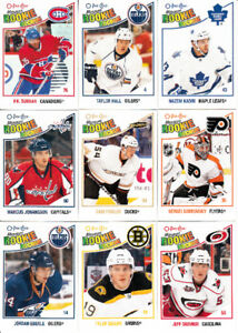 2010-11 O-PEE-CHEE OPC SERIE COMPLETE 1-620