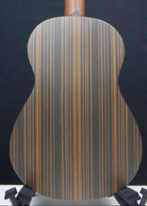 Zebrawood Baritone 6-string (4-course) Ukulele Hawaii Islands