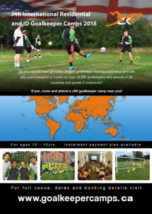 Summer Goalkeeper Residential & Day Camp