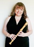 Recorder Lessons all levels from a professional recorder player