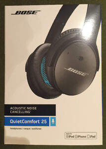 30% OFF NEW BOSE Quiet Comfort 25 Noise Cancelling Ear Phones