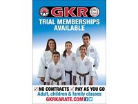 £30 karate and self defence beginners classes