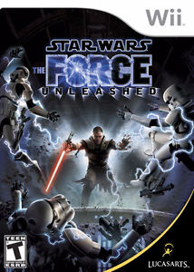 Wii Star Wars force Unleashed