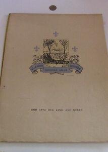 Menu, Hommage, Hotel Windsor, Montreal, King George VI, 1939