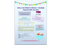 Little Munchkins Baby & Children's Market - Rayleigh