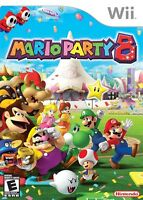 Looking for any of the Mario party games for the wii