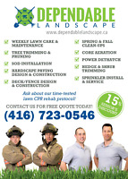 WEEKLY /BI-WEEKLY LAWN CARE OAKVILLE 416 723-0546