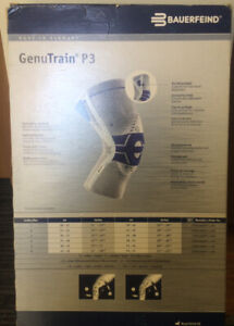 Knee brace brand new. Never used. Excellent quality Genutrain