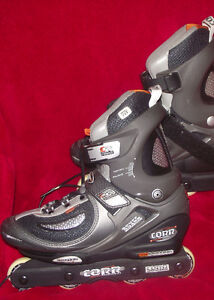 Mens Corr size 8 rollerblades