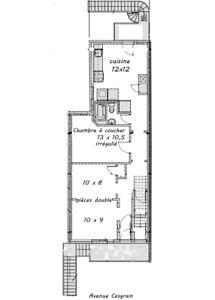 Mile-end, avenue Casgrain, disponible  jusqu'au 1er avril 2020